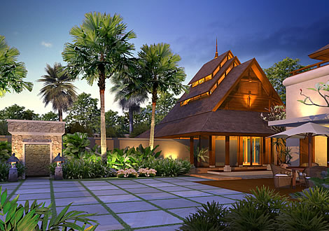 Artist rendering of house template CHIANGMAI from Small Communities and Resorts