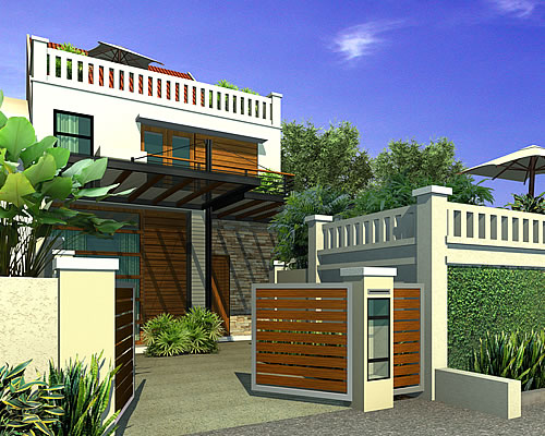 Artist rendering of house template JESMYNNE from Remodelling Range