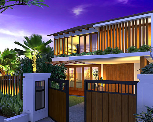 Artist rendering of house template SHEAYNA from Remodelling Range