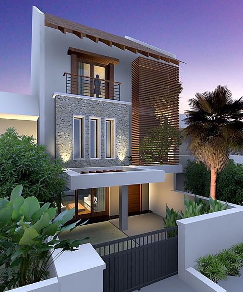 Artist rendering of house template DUVALIAH from Resort Homes Range